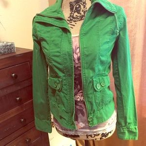 Green Cotton Jacket by Rubbish